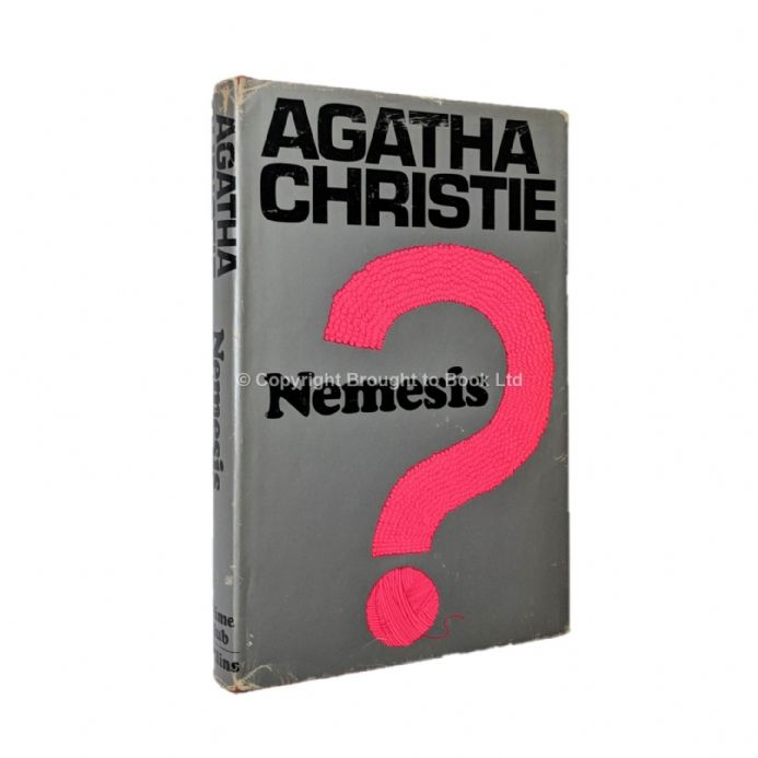 Nemesis by Agatha Christie First Edition Collins Crime Club 1971